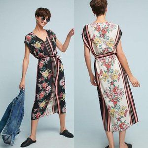 Anthropologie dRA Sanne Floral Midi Dress